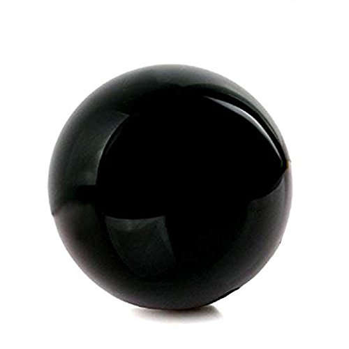 "JIC Gem Natural Black Obsidian Sphere Ball Fengshui Healing (4"")"