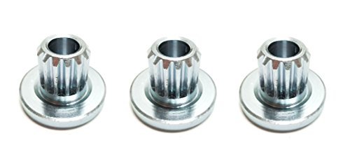 3 Splined Blade Bushings Replaces Exmark Part Number 103-3037, Used on Exmark Lazer Z