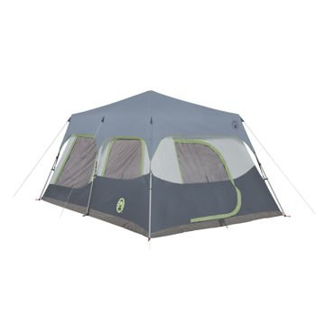 Coleman Instant 10 Person Cabin Tent with Rainfly 2 Rooms 6 Ft 4 In Center Height