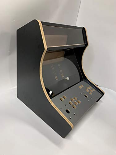 - Micro Center Raspberry Pi (not Included) Retro Arcade 2-Player Bartop Cabinet - Unassembled