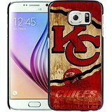 New Amazing Design With Advanced Kansas City Chiefs 21 Black Samsung Galaxy S7 Edge Cover Case