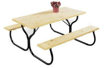 Picnic Table Frame - 1