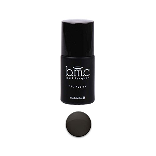 BMC Charcoal Gray Creamy Nude Color Themed Nail Lacquer Gel Polish - Oasis Collection, Intoxication