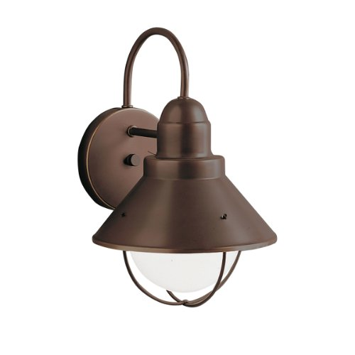 Family Outdoor Light Wall (Kichler 9022OZ One Light Outdoor Wall Mount)