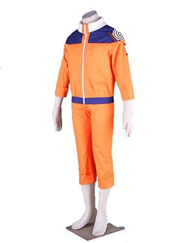 Wsysnl Japanese Anime Cosplay Costume for Uzumaki Naruto Adult/Kids by Wsysnl (Image #1)