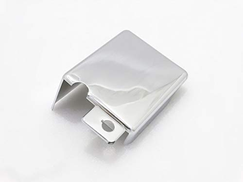 Royal Crusaders ROYAL ENFIELD UCE CLASSIC ELECTRA CHROME BATTERY CARRIER COVER BOX