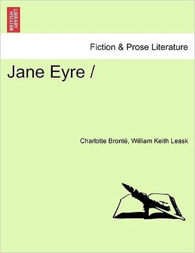 Amazon.com: Jane Eyre / (9781241233471): Charlotte Bronte, William Keith Leask: Books