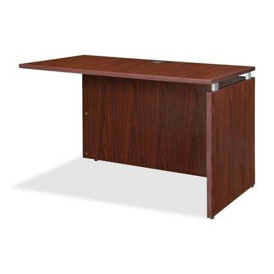 Lorell LLR68696 Executive Desk, Mahogany -