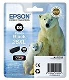 Epson 26XL Inkjet Cartridge Polar Bear Capacity 8.7ml Photo Black Ref C13T26314010