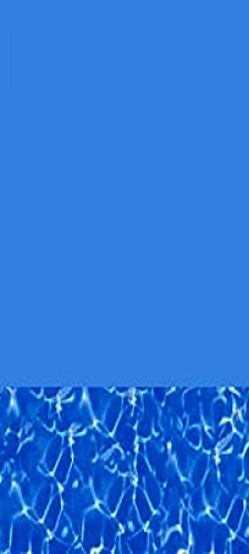 Swirl Bottom 25 Gauge Oval Swimming Pool Liners with Universal Gasket Set (16' X 24' Oval)