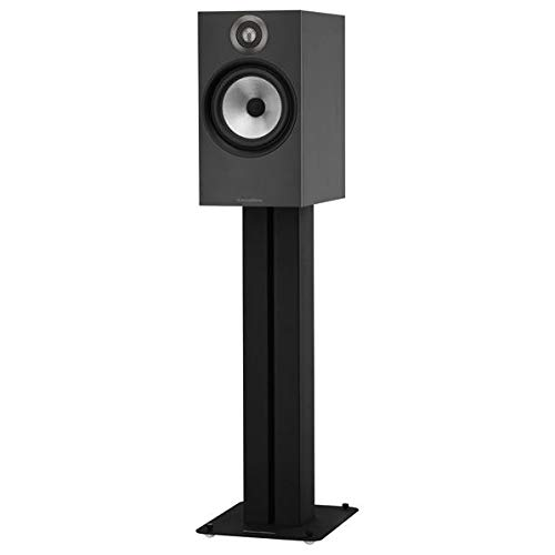 (B&W (Bowers & Wilkins) Bookshelf Speaker 606MB (Matte Black) (1Pair)【Japan Domestic Genuine Products】 【Ships from)