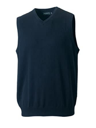 716m Russell Scollo A V SLEEVLESS Maglia Pullover