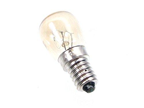 Ampoule pour four, Four à Pizza Ø 26mm Longueur 21mm 230V 25W Verre t. Max 500°C E14