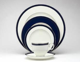 Noritake Stardust Platinum Accent/Luncheon Plate