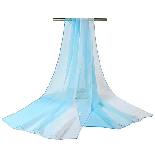 18 Color Gradient Fashion Chiffon Scarf Women's Long Wraps and Shawls Lady Spring Autumn - Chiffon Beaded Gown Kara