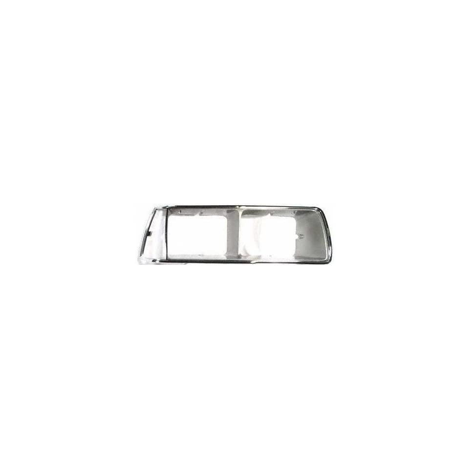 83 86 FORD THUNDERBIRD t bird HEADLIGHT DOOR RH (PASSENGER SIDE), Chrome/Argent (1983 83 1984 84 1985 85 1986 86) 7956 E3SZ13064A