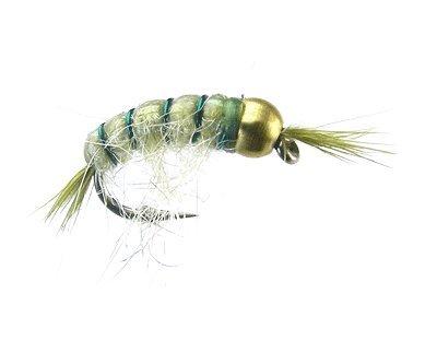 Montana Fly Company Beadhead Scud - Olive - Size 16-1/2 Dozen