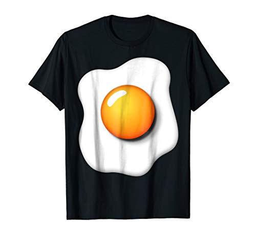 Funny Fried Egg Shirt DIY Halloween Costume Ideas Egg Yolk -