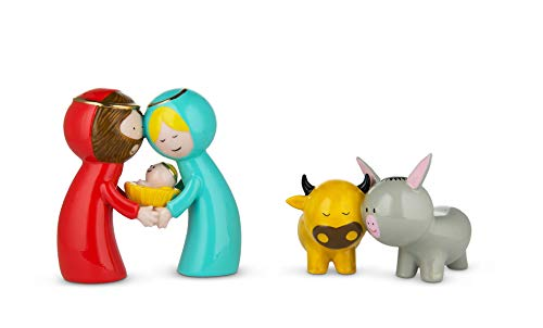 Alessi Happy Eternity Baby Figurines in Porcelain