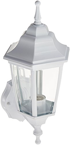 Boston Harbor DTDW Dusk/Dawn Outdoor Lantern, White (Lantern Outdoor Harbor)