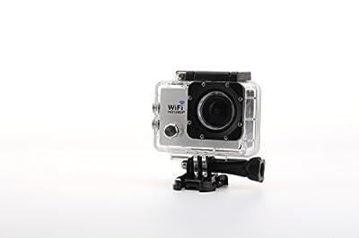 Uniquer Sport DV SJ9000 WiFi 14MP 170 Degree 1080P Digital Waterproof Helmet Sports Action Car Camera White