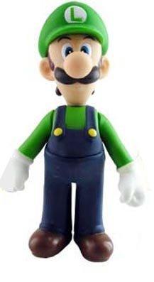 """Super Mario Brother PVC 5"""" Figure Luigi"""