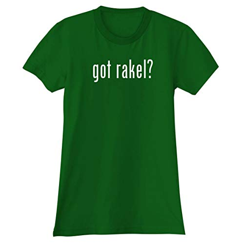 The Town Butler got Rakel? - A Soft & Comfortable Women's Junior Cut T-Shirt, Green, Large
