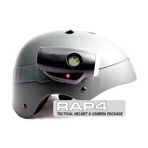 Tactical Helmet and Helmet Cam Package - paintball equipment by Rap4