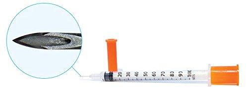 Easy Touch Bag of 20 1cc 29 1/2 inch 100 units ACS Pharma