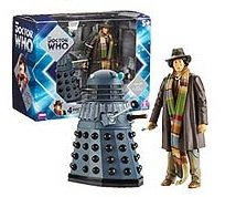 Doctor Who 'Genesis of the Daleks' Box Set - Fourth Doctor & Dalek -