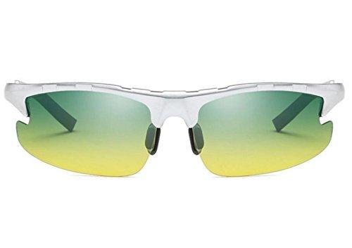 Sol Sol Hombre Plateado De Deportes Que Gafas MSNHMU Gafas Para Conducen Libre De Bicicleta Aire Polarizadas Al De qE4R4Cw6