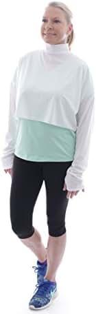 UPF 50+ Women's Sun Wrap - Sun Protective - One Size - White