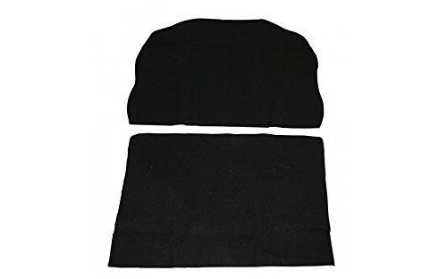 Buggy Dune Seats (Empi 3880 Black Vinyl Low Back Bucket Seat Cover. Dune Buggy Vw Baja Bug, Each)
