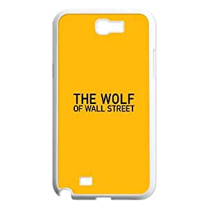 Samsung Galaxy N2 7100 Cell Phone Case White The Wolf Of Wallstreet Yellow Film Logo LV7919163