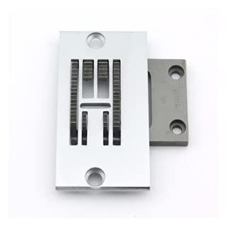 Cutex (TM) Brand Needle Plate & Feed Dog Set for Singer 20U Industrial Sewing Machine