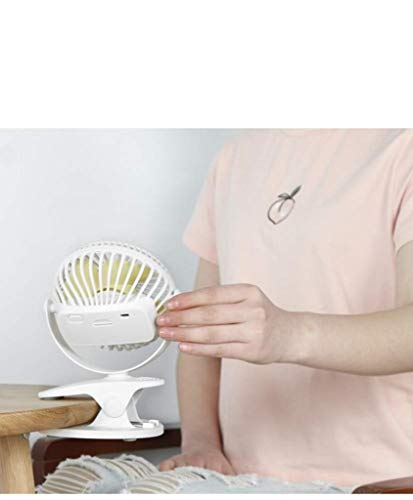 Amazon.com: Cgewl Mini USB Desktop Clip Mute Home Small Fan, Office, Bedroom, Camping, Travel, Pink,Black (Color : Black): Home & Kitchen