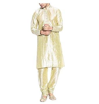 in Blend Amazon Kurta Men's Pintuck Silk Royal Thread Sherwani 8pvtwtq6