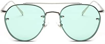 GAMT Vintage Round Aviator Sunglasses Metal Frame Designer Sun Glasses for Men