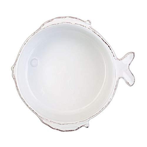 Vietri Lastra Fish Cereal Bowl