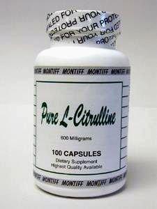 Montiff - Pure L-Citrulline 600 mg