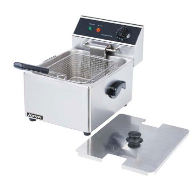 Adcraft Countertop Stainless Steel Single Tank Deep Fryer, 18.11 x 13.39 x 12.99 inch -- 1 each. (120v Deep Fryer compare prices)