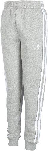 adidas Boys' Cotton Fleece Jogger Pants by adidas