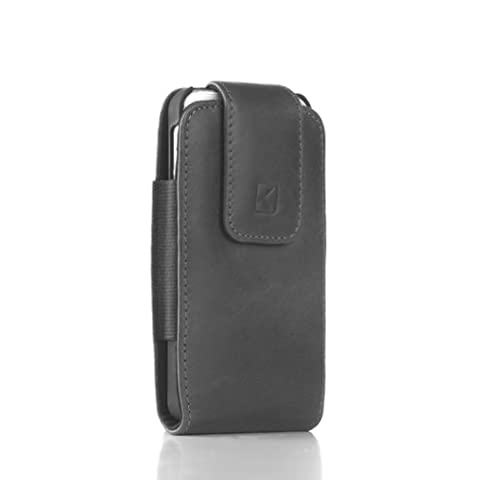 Knox Vertical Genuine Leather Holster for Apple iPhone 6 with Shell Case (Shell Case Not Included) - Iphone Vertical Case