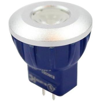 Pack of THREE (3), LED 1.5W 12V MR8 GU4.0 Accent Lamp Bulb
