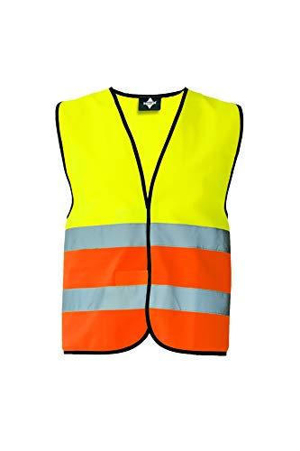 Veiligheidsvest standaard – zwarte zoom. 5XL geel/oranje