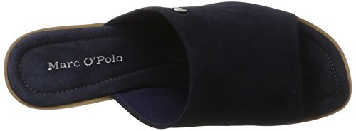 Marc O'Polo 70313971201302 Sandal - Sandalias Mujer Azul (Dark Blue)
