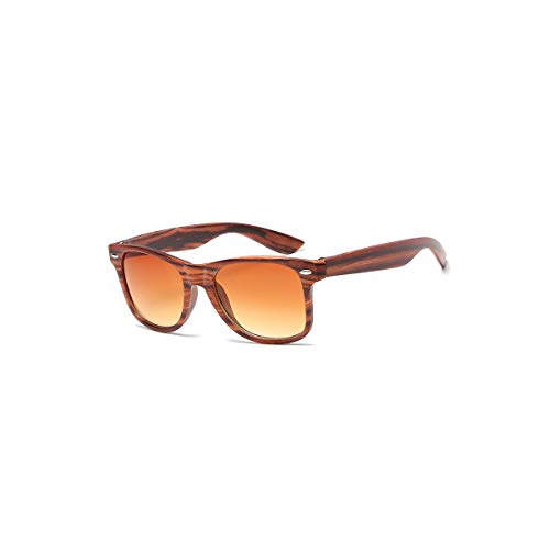 89e41f37644f SYBYA Aviation Rivets Sunglasses Men Gradient Shades Imitation Wood Grain  Sun Glasses For Women NEW High
