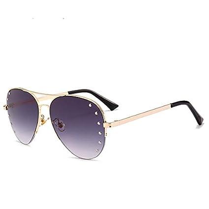 SQYJING Gafas de Sol para Nuevas Gafas de Sol Aviator Shades ...