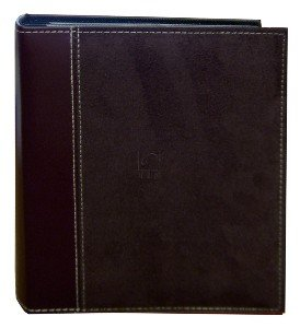 Pioneer Suede Series Bound Photo Album, Random Solid Color Soft Suede Covers, Holds 208 4x6