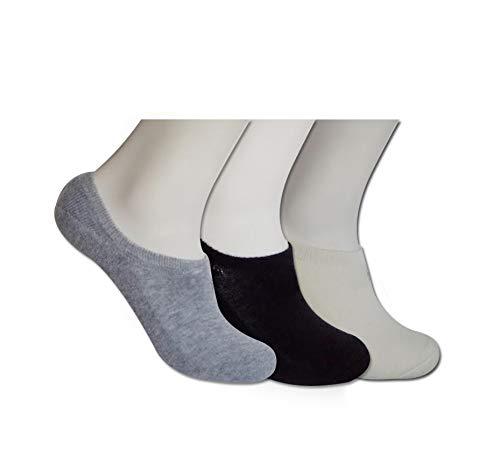 POPYS (2 Pares) Calcetines Invisibles Unisex Térmico Lana Calcetines Cortos Hombre